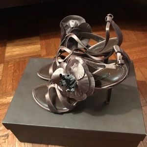 Louis Vuitton Bora Bora Sandal in Taupe - 10 cm
